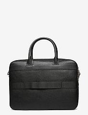 Tommy Hilfiger - TH DOWNTOWN SLIM COMP BAG - laptop bags - black - 1