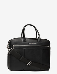 Tommy Hilfiger - TH DOWNTOWN SLIM COMP BAG - laptop bags - black - 2