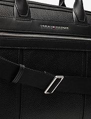 Tommy Hilfiger - TH DOWNTOWN SLIM COMP BAG - laptop bags - black - 3