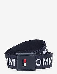Tommy Hilfiger - WEBBING BELT - accessories - twilight navy - 0