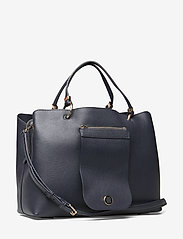 Tommy Hilfiger - MY TOMMY SATCHEL - sacs a main - tommy navy- monogram - 2
