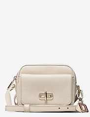 Tommy Hilfiger - CANVAS MIX CAMERA BA - shoulder bags - oatmeal - 0
