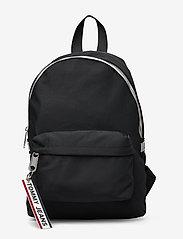 Tommy Hilfiger - TJW LOGO TAPE MINI B - backpacks - black - 0
