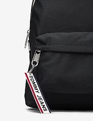 Tommy Hilfiger - TJW LOGO TAPE MINI B - backpacks - black - 3