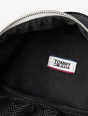Tommy Hilfiger - TJW LOGO TAPE MINI B - backpacks - black - 4