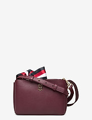Tommy Hilfiger - CHARMING TOMMY CROSS - shoulder bags - deep rouge - 0