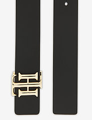 Tommy Hilfiger - TH LOGO REVERSIBLE BELT 3.0 - riemen - black / oakmont - 2