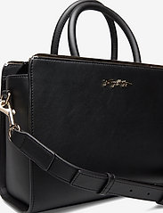 Tommy Hilfiger - TOMMY MODERN SATCHEL - handbags - black - 3