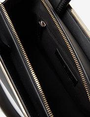 Tommy Hilfiger - TOMMY MODERN SATCHEL - handbags - black - 4