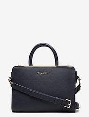Tommy Hilfiger - TOMMY MODERN SATCHEL - handbags - desert sky - 0