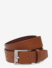 Tommy Hilfiger - NEW ALY BELT - classic belts - dark tan - 0