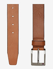 Tommy Hilfiger - NEW ALY BELT - classic belts - dark tan - 1