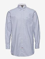 Tommy Hilfiger - ICON OVERSIZED STRIPE SHIRT - business skjorter - shirt blue / bright white - 0