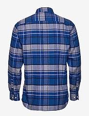 Tommy Hilfiger - CLASSIC TARTAN SHIRT - rutede skjorter - sodalite blue / navy blazer / - 1