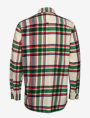 Tommy Hilfiger - RELAXED BLOWN UP CHE - rutede skjorter - lemon icing / jelly bean / mul - 1