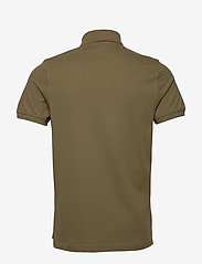 Tommy Hilfiger - TOMMY SLIM POLO - kortermede - faded military - 1