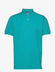 Tommy Hilfiger - TOMMY REGULAR POLO - short-sleeved polos - aquatic teal - 0