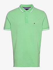 Tommy Hilfiger - BASIC TIPPED REGULAR - polos à manches courtes - neo mint - 0