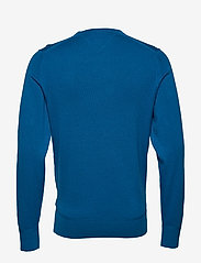 Tommy Hilfiger - ORGANIC COTTON SILK CREW NECK - rund hals - regatta blue heather - 1