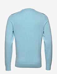 Tommy Hilfiger - ORGANIC COTTON SILK CREW NECK - pulls col rond - sail blue heather - 1