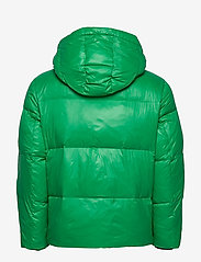 Tommy Hilfiger - SHINY HOODED BOMBER - padded jackets - jolly green - 3