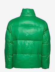 Tommy Hilfiger - SHINY HOODED BOMBER - padded jackets - jolly green - 4