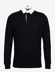 Tommy Hilfiger - ICONIC RUGBY - long-sleeved polos - desert sky - 0