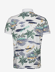 Tommy Hilfiger - SUMMER PRINT REGULAR - short-sleeved polos - white - 1