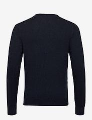 Tommy Hilfiger - PIMA COTTON CASHMERE - knitted v-necks - desert sky heather - 1