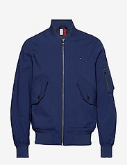 Tommy Hilfiger - LIGHT WEIGHT COTTON - bomber jackets - blue ink - 0