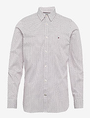 Tommy Hilfiger - SLIM MULTI GEO PRINT - business skjorter - white / multi - 0