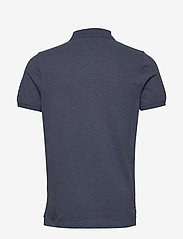 Tommy Hilfiger - TOMMY HEATHER SLIM - short-sleeved polos - faded indigo heather - 1