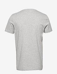 Tommy Hilfiger - CORP HILFIGER TEE - kortermede t-skjorter - medium grey heather - 1