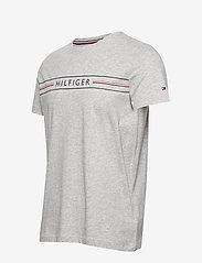 Tommy Hilfiger - CORP HILFIGER TEE - kortermede t-skjorter - medium grey heather - 2