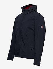 Tommy Hilfiger - FLEX HOODED BLOUSON - light jackets - desert sky - 4