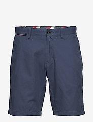 Tommy Hilfiger - BROOKLYN SHORT LIGHT TWILL - chinos shorts - faded indigo - 0