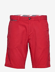 Tommy Hilfiger - BROOKLYN SHORT LIGHT TWILL - chinos shorts - primary red - 0
