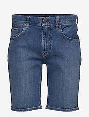 Tommy Hilfiger - BROOKLYN 5PKT SHORT - denim shorts - alvin blue - 0