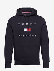 Tommy Hilfiger - TOMMY FLAG HILFIGER HOODY - hoodies - desert sky - 0