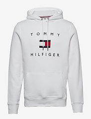 Tommy Hilfiger - TOMMY FLAG HILFIGER HOODY - hoodies - white - 0