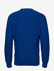 Tommy Hilfiger - BOLD TEXTURED COTTON SWEATER - tricots basiques - cobalt - 1