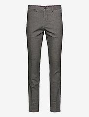 Tommy Hilfiger - DENTON CHINO WOOL LOOK FLEX - suit trousers - beige - 0