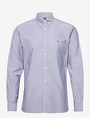Tommy Hilfiger - FLEX REFINED OXFORD SHIRT - basic shirts - carbon navy - 0