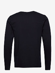 Tommy Hilfiger - CORP CHEST STRIPE LS TEE - long-sleeved t-shirts - desert sky - 1