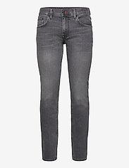 Tommy Hilfiger - STRAIGHT DENTON STR ODIN BLACK - regular jeans - denim black 12 - 0