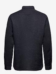 Tommy Hilfiger - SLIM GARMENT DYED LINEN SHIRT - basic shirts - desert sky - 1