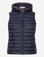Tommy Hilfiger - TH ESSENTIAL LW DWN - vests - desert sky - 1