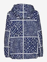 Tommy Hilfiger - SUKI PACKABLE WINDBR - vestes legères - scarf prt ow / medieval blue - 2