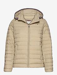 Tommy Hilfiger - TH ESSENTIAL LW DWN - down- & padded jackets - surplus khaki - 0