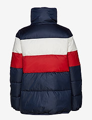 Tommy Hilfiger - NAOMI RECYCLED DOWN JKT - padded jackets - rwb colour block - 2